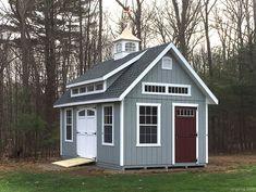 x Garden Elite with a mini shed dormer by Kloter Farms Backyard sheds plans Backyard Sheds, Outdoor Sheds, Garden Sheds, Backyard Barn, Backyard Storage, Backyard Camping, Cabana, Mini Shed, Shed Dormer