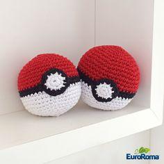 Receita Pokebola • Amigurumi Crochê Pokemon - EuroRoma