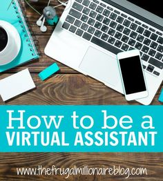Learn how to make money from home by being a Virtual Assistant! make extra money at home, make extra money in college