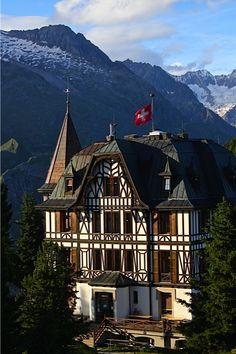 Villa Cassel, Valais, Switzerland