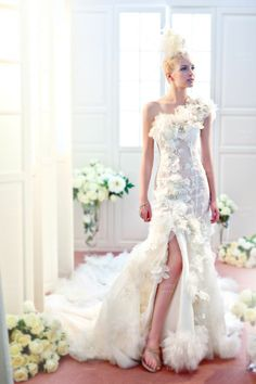 Sophie design, bridal gown, #gowns #bridal #Taiwan http://sophie.wswed.com/375.html