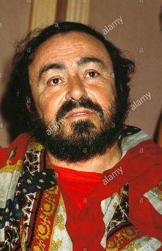Luciano Pavarotti in Salzburg.