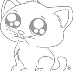 Anime animals, puppy coloring pages, cartoon coloring pages, kitten drawing, cat cart Puppy Coloring Pages, Cat Coloring Page, Cartoon Coloring Pages, Free Coloring, Cartoon Drawings Of Animals, Cute Animal Drawings, Anime Animals, Drawing Animals, Baby Animals