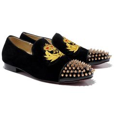 Cheap Christian Louboutin Harvanana Loafers Black In Our Outlet Offers You High Quality And Unique Style! Christian Louboutin Loafers, Louboutin Wedges, Christian Louboutin Outlet, Baskets, Red Bottoms, Fashion Lookbook, Bridal Shoes, Everyday Fashion, Passion For Fashion