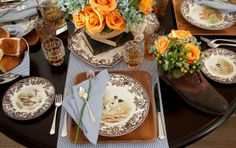Savannah Style: Father's Day Hunt Brunch Table