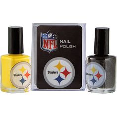 Pittsburgh Steelers Team Colors Nail Polish