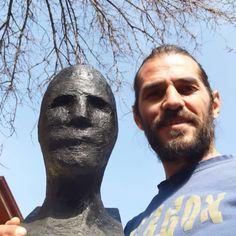 Me, Myself & I / My New Help and Head Manequin / 🤘😎🤘 #limbovicidesign #leathermask #postapocalypticmask