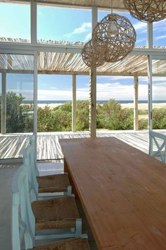 Dining room - beach house design