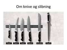 TOUCH this image: Om knive og slibning by Ma Riis