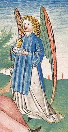 Bibel AT, dt.: Könige, Paralipomenon I und II, Esra, Tobias, Judith, Esther, Hiob — Stuttgart (?) -  Werkstatt Ludwig Henfflin, 1477 Cod. Pal. germ. 17 Folio 97v