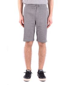 ARMANI JEANS ARMANI JEANS MEN'S  GREY COTTON SHORTS. #armanijeans #cloth #