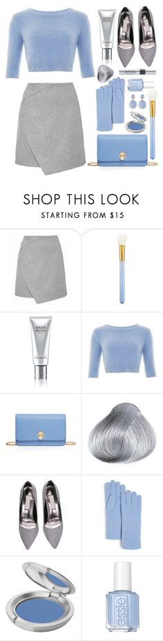 """""""Baby blue"""" by edita-m ❤ liked on Polyvore featuring MAC Cosmetics, Molton Brown, Henri Bendel, C by Bloomingdale's, T. LeClerc, Essie, Christian Dior, women's clothing, women's fashion and women"""