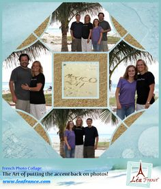 Photo Collage Created by Becky, Lea France designer using Digital Stained Glass…