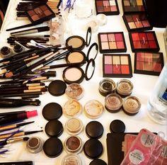 Backstage at NYFW - sponsored by Mac Cosmetics #BTS #Makeup #CharlotteTilbury