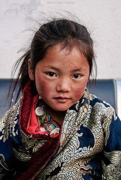 Beautiful tibetan girl | von Anastasia Stankina