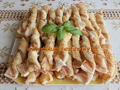 Lístkové cesto-slané Pasta Salad, Asparagus, Chicken, Meat, Vegetables, Ethnic Recipes, Food, Hampers, Crab Pasta Salad