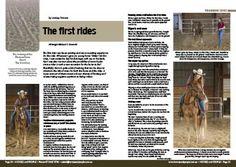 First Rides