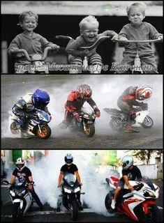 Hahaha - starting grid for the 2025 World Motorcycle GP? Motorcycle Baby, Motorcycle Posters, Motorcycle Humor, Valentino Rossi, Ducati, Yamaha, Kids Atv, Motos Harley Davidson, Motorised Bike