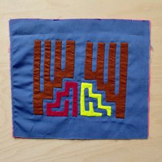 Reverse Applique Mola Art ideal for crafts use  by PeaceAPorter