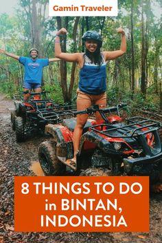 Great adventure visiting Bintan Island. Things to do in Bintan, Indonesia via @gamintraveler