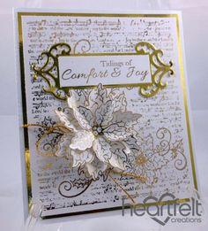 Heartfelt Creations   Gold Simple Tidings