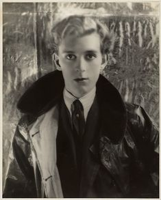 "Stephen James Napier Tennant (21 April 1906 – 28 February 1987) was a British socialite known for his decadent lifestyle. He was called ""the brightest"" of the ""Bright Young People."" on photo: Portrait of Stephen Tennant by Cecil Beaton, 1927/ 1928"