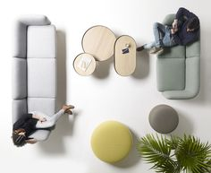 French brand ALKI reveals the 'egon' furniture collection for lounge spaces designed by iratzoki lizaso.