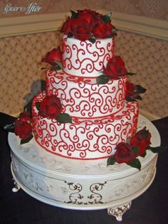 Wedding Cake Wednesday: Winter EditionEver After Blog | Disney Fairy Tale Weddings and Honeymoon