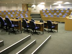 Harvard style lecture theatres | CPS Manufacturing Co. | ESI Interior Design Lecture Theatre, New Hospital, Harvard Business School, Children Play, Theater Seating, Theatres, Kids Playing, Conference, Kindergarten