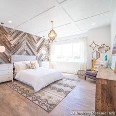 13 beautiful modern farmhouse bedroom master suite ideas