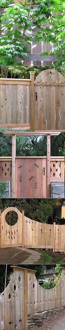 Красивые деревянные заборы и ворота для дачи - Учимся Делать Все Сами Privacy Panels, Wooden Pergola, Projects To Try, House Design, Windows, Fences, Pets, Pallet, Home Decor