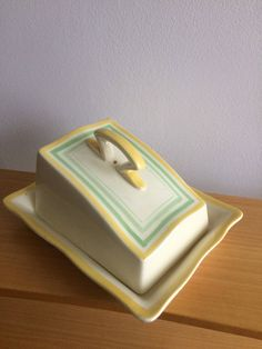 Excited to share the latest addition to my shop: Art Deco butter dish Shop Art, Funky Junk, Butter Dish, Scandinavian, Table Settings, Art Deco, Etsy Shop, Display, Dishes