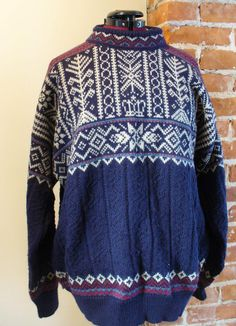 Vintage Dale of Norway Trondheim  Sweater by TheOldBagOnline on Etsy