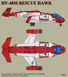 USN / USCMC Rescue Hawk is a two seat Trans-atmospheric, STOVL medical evacuation aircraft. Assigned to MSF Aerospace Wings, Tactical Group operations. Spaceship Design, Spaceship Concept, Concept Cars, Starship Troopers, Sci Fi Ships, Star Trek Ships, Futuristic Art, Mechanical Design, Armada