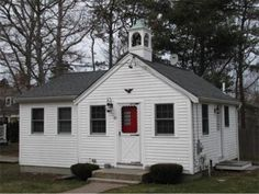Live in a Connecticut Schoolhouse on Cape Cod for $200K