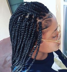 Back to school hairstyles black hair, natural hair, hairstyles for kids, school kids, rope twist