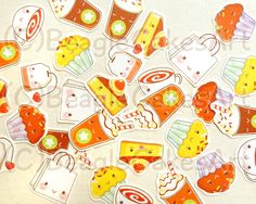 30+adorable+tea+&+dessert+themed+stickers+for+you+to+mark+your+planners+and+calenders+with+:)+Comes+in+8+different+designs:  -+Caramel+Frap -+Mocha+Fap -+Chocolate+Muffin -+Plain+Muffin -+Tea+cup -+Tea+bag -+Shopping+bag -+Cake  Perfect+to+use+for+your+girl's+day+out+shopping+trip;+pla...