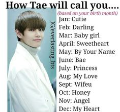Call me bae one more time I swear to freakin god. Namjoon, Bts Taehyung, Bts Zodiac Signs, I Love Bts, My Love, Bts Name, Text Imagines, Bts Texts, Bae