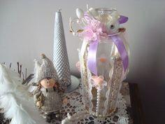 Recyclage d'une Bouteille en Soliflore ou Décoration dans le Style Shabby Chic ! : Accessoires de maison par les-petits-bonheurs-de-paty