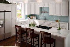 New Shaker Hill Kitchen Collection from SunnyWood.  Find out more at www.sunnywood.biz.