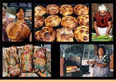Preaparando pan de muerto| Fotos de Dia de Muertos en Mexico