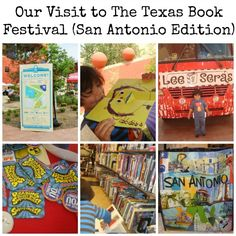 Our Visit to The Texas Book Festival in San Antonio