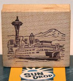 Quot Seattle Skyline Heartbeat Quot Space Needle Decal Sticker