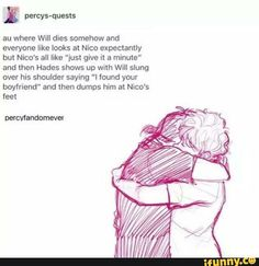 This Solangelo headcanon... I found your boyfriend! Srsly, Hades is the best father in the world! xD