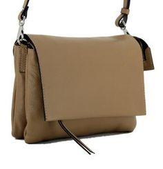 !!!Gianni Chiarini Three Schultertasche Cappuccino braun Überschlag Clutch, Rind, Bags, Leather Satchel, Sachets, Handbags, Silver, Dime Bags, Lv Bags
