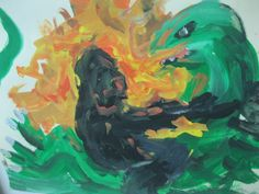 gODZILLA VS kING kONG PAINTING gRIFFIN 2014