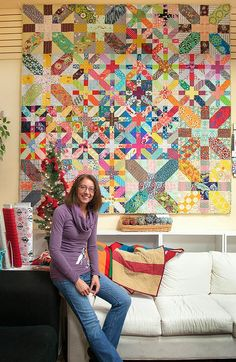 CapitolaQuilter: Blogger's Quilt Festival - Scrappy!