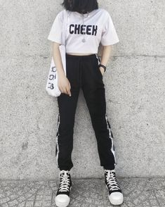 Pin by han hyo joo x lee jong suk on summer outfits корейска Sporty Outfits, Swag Outfits, Korean Outfits, Outfits For Teens, Trendy Outfits, Summer Outfits, Girl Outfits, Cute Outfits, Fashion Outfits