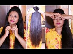 Easy Exercises For Extreme Hair Growth & Cure Baldness | Sushmita's Diaries - YouTube
