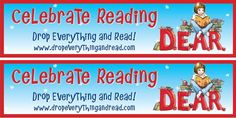 D.E.A.R. Day Bookmarks!